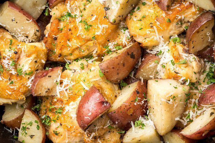 """<p>This recipe is taking over Pinterest. Find out why.<br><br>Get the recipe from <a href=""""https://www.delish.com/cooking/recipe-ideas/recipes/a46066/slow-cooker-garlic-parmesan-chicken-recipe/"""" rel=""""nofollow noopener"""" target=""""_blank"""" data-ylk=""""slk:Delish"""" class=""""link rapid-noclick-resp"""">Delish</a>.</p>"""