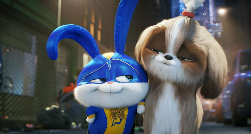 Kevin Hart and Tiffany Haddish lent their voices to 'The Secret Life of Pets 2' (Photo: Universal / Courtesy Everett Collection)