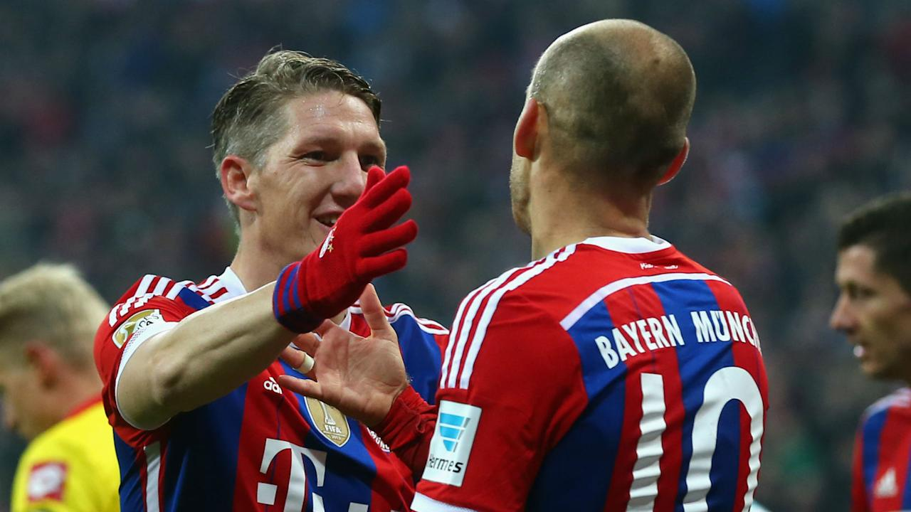 The Dutch winger worked with the midfielder at Bayern Munich and considers him to be an iconic figure who was right to take on a new challenge