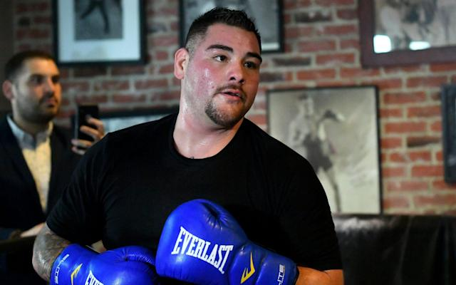 Andy Ruiz says he has spotted weaknesses in Anthony Joshua's technique and plans to use the Mike Tyson playbook against him - Getty Images North America