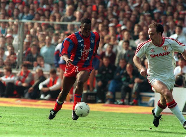 Big earned: Ian Wright's move to Palace was all about muscle