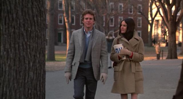 <p>Walking on the Harvard University campus in a belted camel coat with patch pockets and hint of a red sweater, Ali MacGraw became an instant style star. The outfits in Love Story are so classic, so timeless, that they continue to influence every time the weather gets cooler.</p><p>[Photo: Screengrab]</p><p><br /></p>