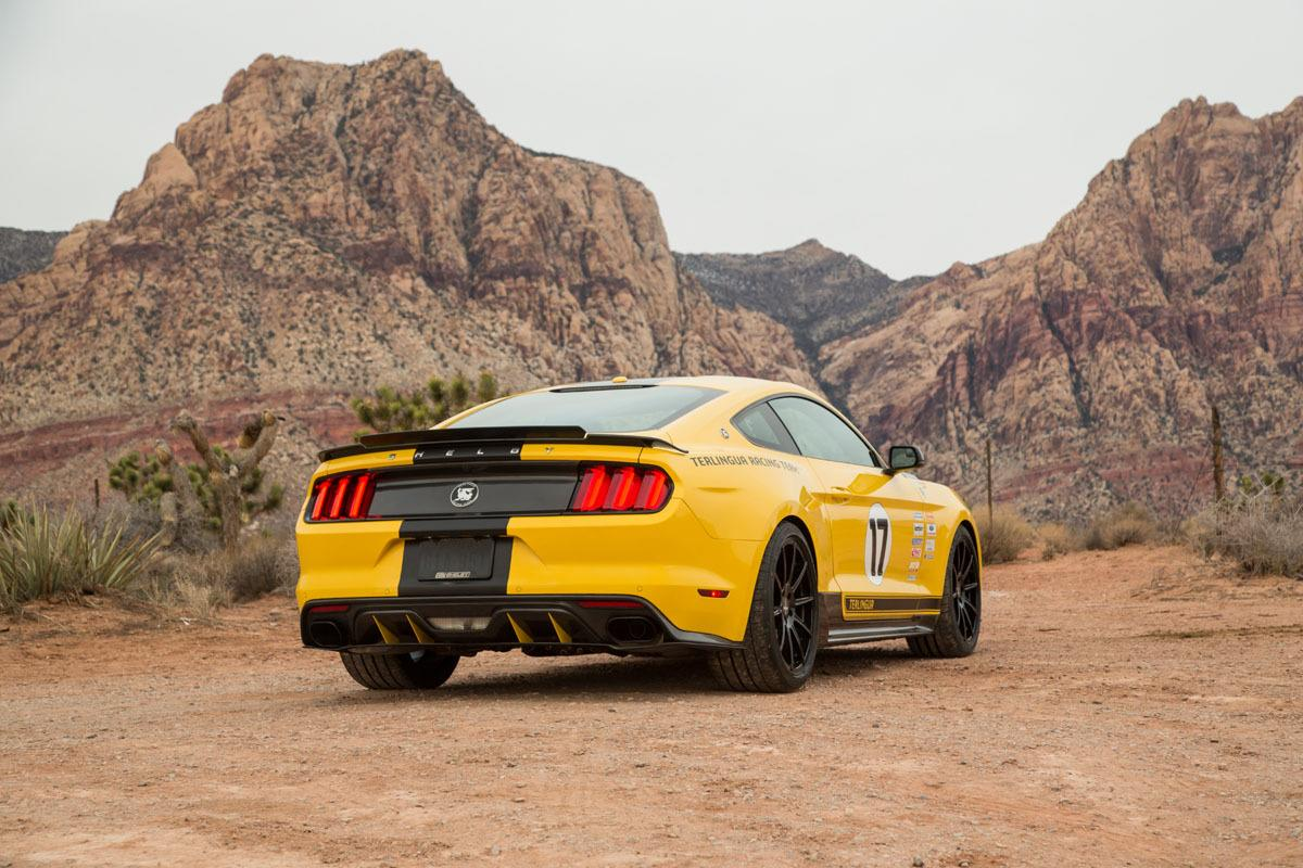 To the uninitiated, jackrabbit-themed Terlingua originated in 1967, when Shelby American raced in the Trans Am series under the Terlingua Racing Team banner. The name itself comes from a small town of less than 100 in Texas, where Caroll Shelby had a 220,00 acre ranch nearby.