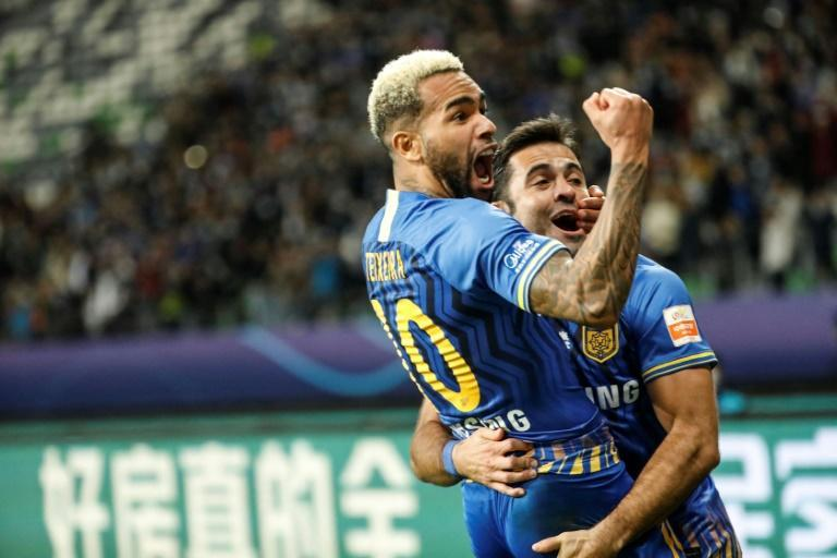Big-money Brazilian signing Alex Teixeira has played his last game for Jiangsu after his contract expired