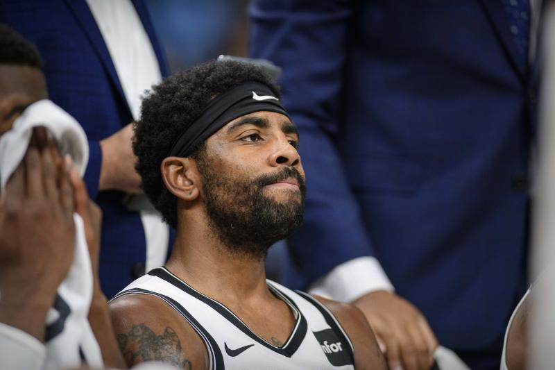 The Nets are off to a disappointing start to the Kyrie Irving era. (Reuters)