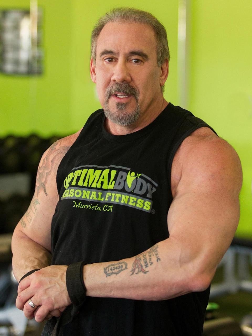 David Lyons is a bodybuilder with MS who says fitness has dramatically helped his symptoms. (Photo: Courtesy of David Lyons)