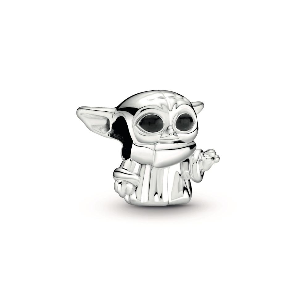 This Star Wars The Child Charm from Pandora ($55) is hand-finished in sterling silver with hand-applied black enamel.