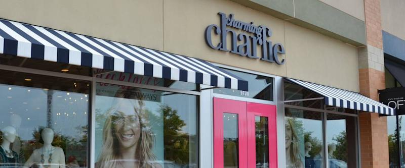 BRIGHTON, MI - AUGUST 22: Charming Charlie, whose Brighton, MI store is shown August 22, 2015, has stores in over 40 states.