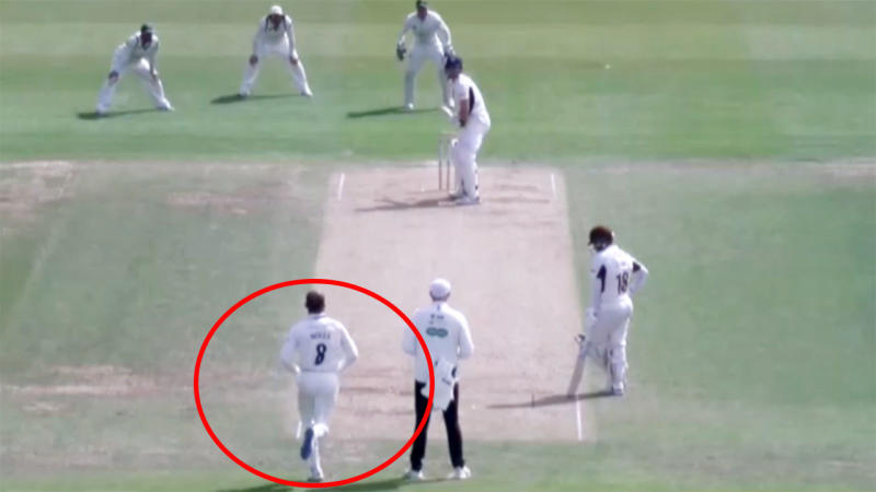 Moeen Ali, pictured here bowling pace rather than spin. Image: Wisden