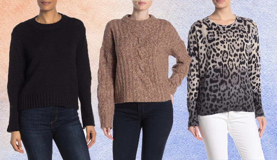 Bundle up—while saving a bundle—with these gorgeous knits. (Photo: Nordstrom Rack)