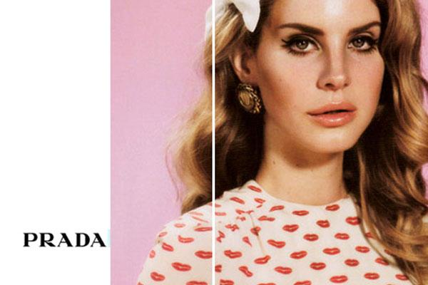 6848cd22de53 The Lana Del Rey Prada Campaign is FAKE! But Still Great