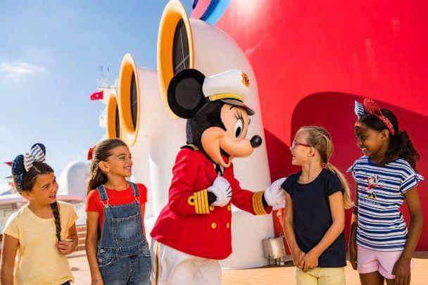 PHOTO: Captain Minnie Mouse will make the rounds on all Disney ships starting in April. (Disney Cruise Line)