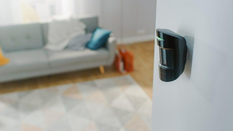 Motion sensor lights save energy and are more accessible to seniors and those with disabilities.