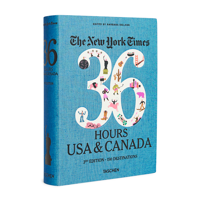 """Hitting the open road is even sweeter after you just got your diploma, and the road tripper can start planning their next adventure with the help of this travel guide, featuring 150 weekend trip itineraries across North America. $66, Amazon. <a href=""""https://www.amazon.com/New-York-Times-Hours-Canada/dp/3836554895"""" rel=""""nofollow noopener"""" target=""""_blank"""" data-ylk=""""slk:Get it now!"""" class=""""link rapid-noclick-resp"""">Get it now!</a>"""