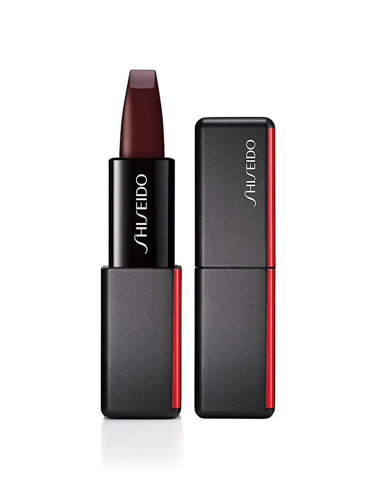 """<p><strong>Shiseido</strong></p><p>sephora.com</p><p><strong>$26.00</strong></p><p><a href=""""https://go.redirectingat.com?id=74968X1596630&url=https%3A%2F%2Fwww.sephora.com%2Fproduct%2Fmodernmatte-powder-lipstick-P435414&sref=http%3A%2F%2Fwww.goodhousekeeping.com%2Fbeauty%2Fmakeup%2Fg3860%2Ffall-lipstick-colors%2F"""" target=""""_blank"""">SHOP NOW</a></p><p>Consider this sleek bullet the ultimate modern matte lipstick. Between the unique angled tip to trace lips with ease and the fool-proof formula, you get a clean application, even if you don't have a mirror. <br></p>"""