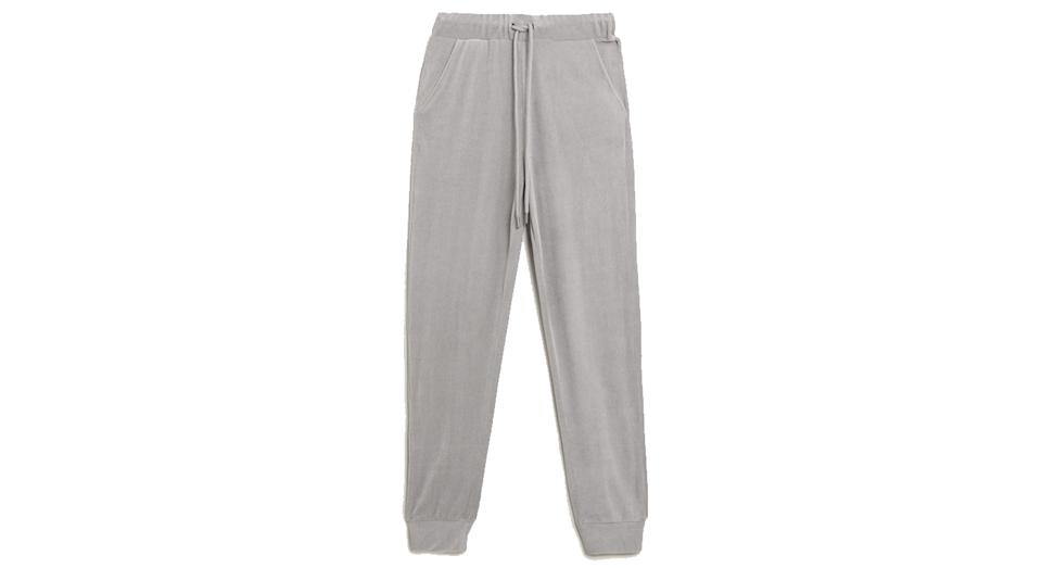 Velour Cuffed Joggers