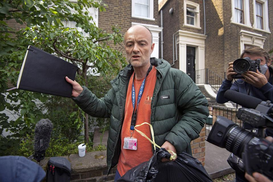 <p>Dominic Cummings hired Faculty for Vote Leave polling analysis</p> (PA Wire)
