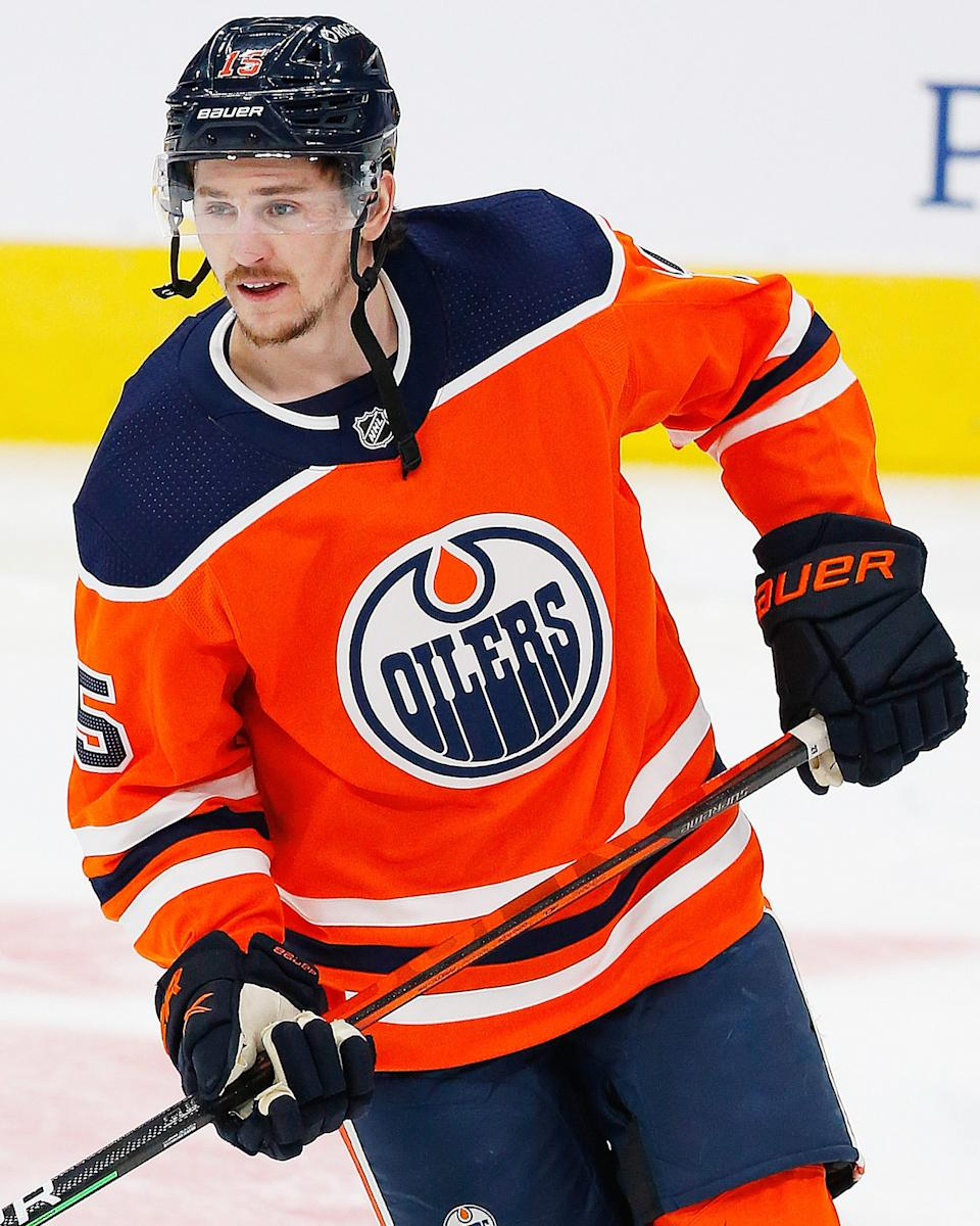 Forward Josh Archibald spent the last two seasons with the Edmonton Oilers after signing as a free agent.