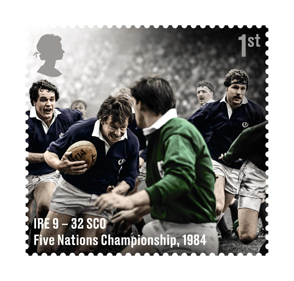 One of the rugby images