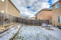 <p><span>6 Primont Drive, Richmond Hill, Ont.</span><br> There is a fully fenced backyard, and the home is within walking distance to parks, a community centre and a hockey arena.<br> (Photo: Zoocasa) </p>
