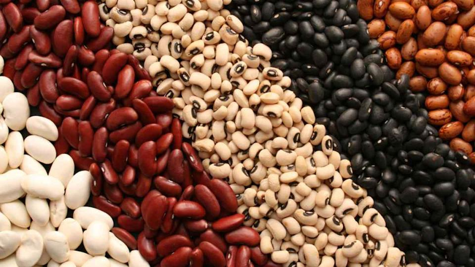 Lentils and beans are excellent sources of protein.