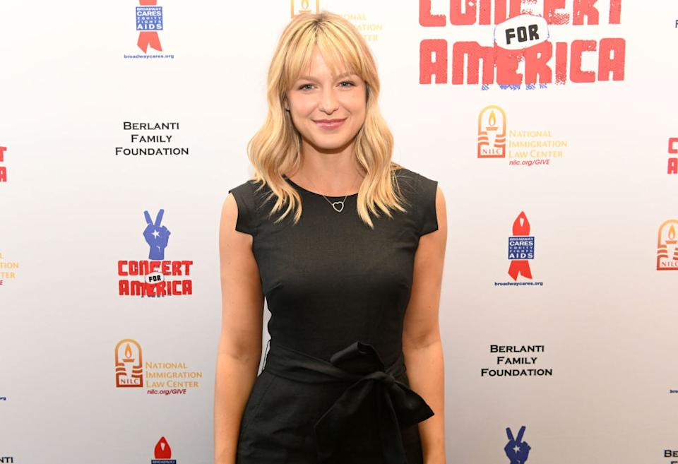 Melissa Benoist has revealed she has been a victim of intimate partner violence [Photo: Getty]