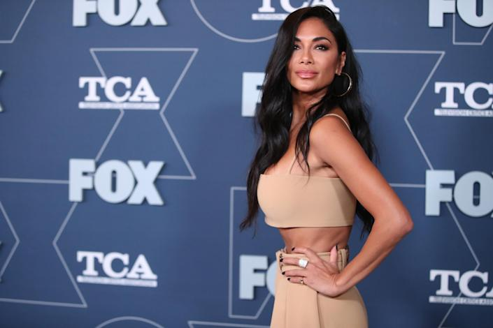 Nicole Scherzinger attends the FOX Winter TCA All Star Party on January 07, 2020 in Pasadena, California. (Rich Fury/Getty Images)