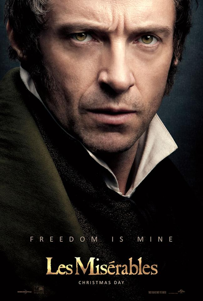 "Hugh Jackman as Jean Valjean in Universal Pictures' ""Les Miserable"" - 2012"