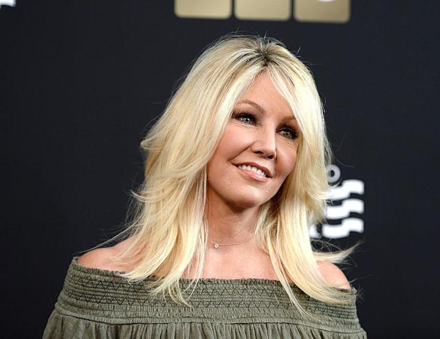 Heather Locklear has battled depression, as well as drug and alcohol abuse, for the last 10 years. (Photo: Getty Images)