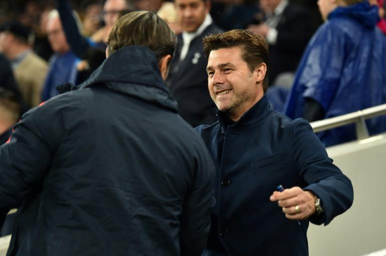 Mauricio Pochettino and Niko Kovac embraced before their teams met in the UEFA Champions League on October 1. Both coaches are now out of a job