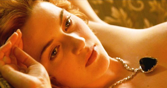 <p>There will never be a piece of movie jewelry more romantic than the Heart of the Ocean necklace in <em>Titanic</em>. The film's soundtrack singer, Celine Dion, even wore the piece to the film's premiere in 1997. </p>
