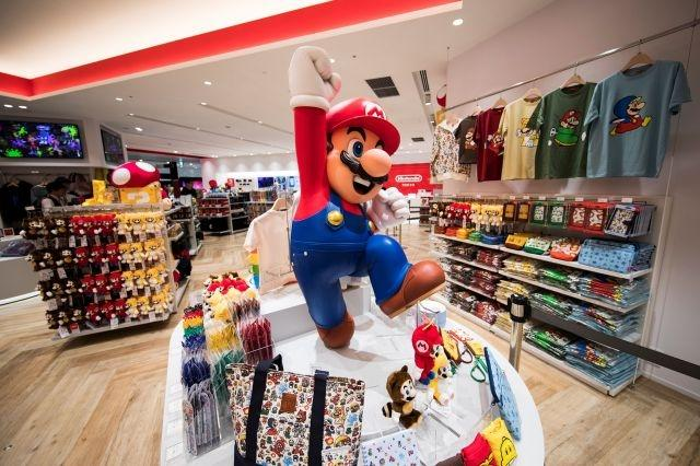Mario mugs, Zelda tote bags as Nintendo opens first Tokyo store