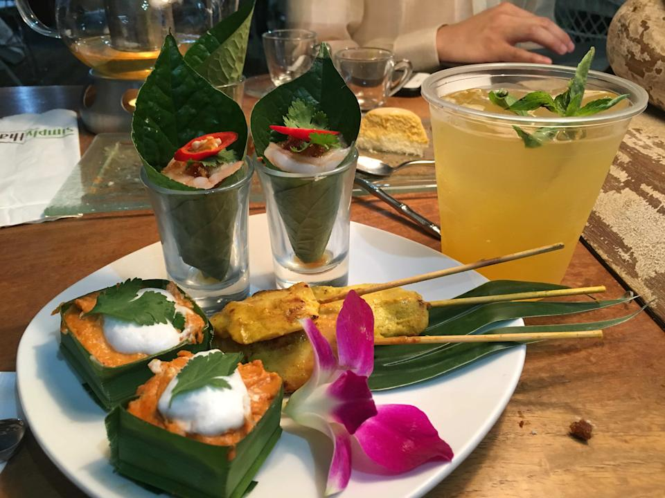 Thai food served in Art Fair Philippines. (Photo: Therese Reyes)