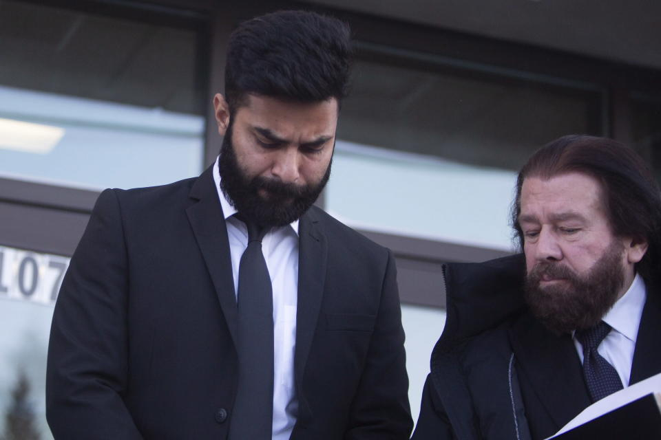 Jaskirat Singh Sidhu, the truck driver who collided with the bus carrying the Humboldt Broncos junior hockey team, pleaded guilty to 29 charges. (Kayle Neis/The Canadian Press via AP)