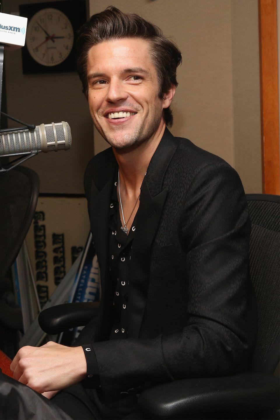 """<p>Lead singer of The Killers, Brandon Flowers, revealed that engaging in alcohol use during the early years of the band's success truly helped him to decide which path he wanted to follow when he became a father. Flowers has now been embracing the sober life for much of the later half of his career. </p><p>H/T: <a href=""""http://www.npr.org/2015/05/26/409671982/desired-effect-reveals-how-important-family-is-to-rocker-brandon-flowers"""" rel=""""nofollow noopener"""" target=""""_blank"""" data-ylk=""""slk:NPR"""" class=""""link rapid-noclick-resp"""">NPR</a></p>"""