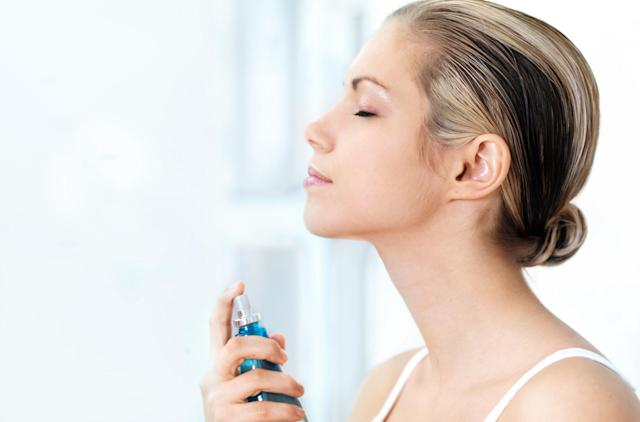 A cooling spritz can help us sleep. (Getty Images)