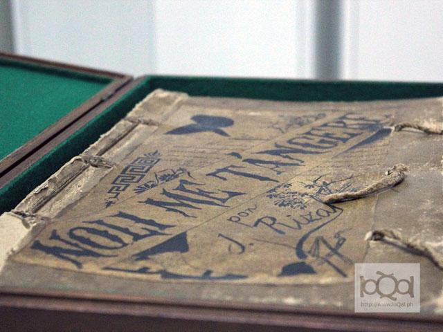 "The original manuscript of Dr. Jose Rizal's ""Noli Me Tangere"" is being restored by the National Library in time for the national hero's 150th birthday this June."