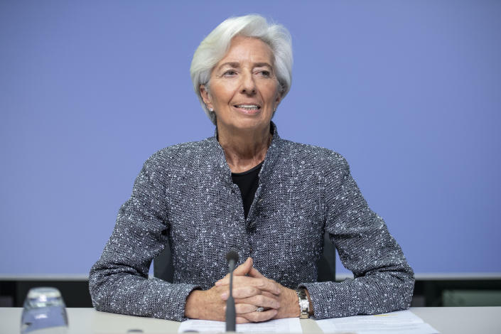Christine Lagarde, President of the European Central Bank. Photo: Thomas Lohnes/Getty Images