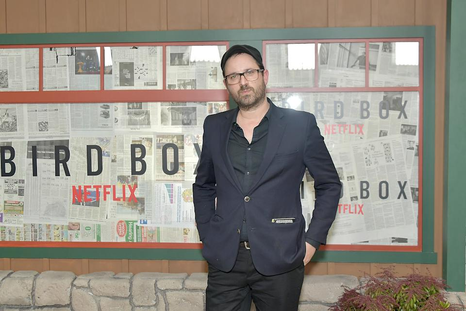 """NEW YORK, NY - DECEMBER 17:  Author of the novel, Josh Malerman attends the New York screening of """"Bird Box"""" at Alice Tully Hall, Lincoln Center on December 17, 2018 in New York City.  (Photo by Michael Loccisano/Getty Images)"""