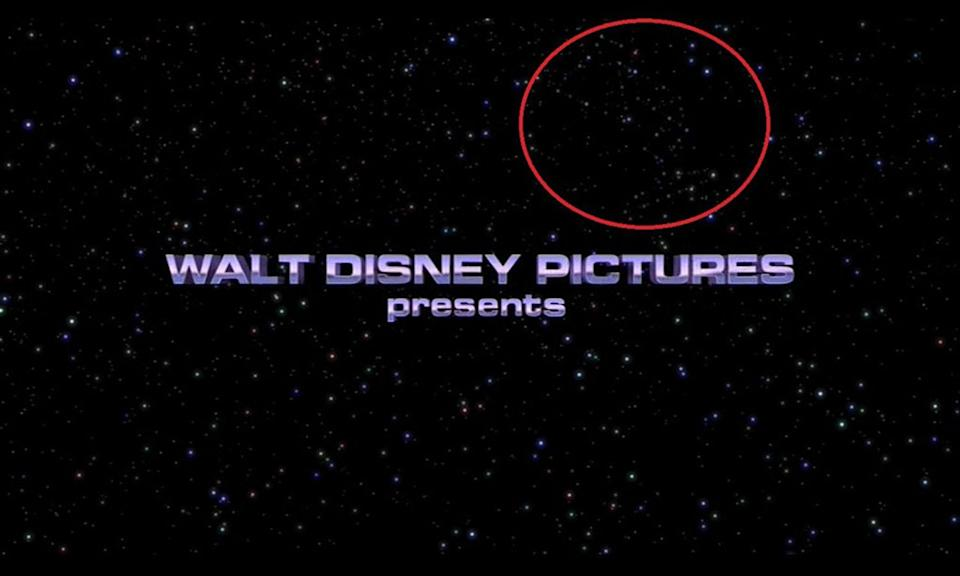 <p>Pixar loves a good Easter, but you had to be looking REALLY closely to have spotted this constellation in the shape of Pixar's mascot lamp in the opening sequence. </p>
