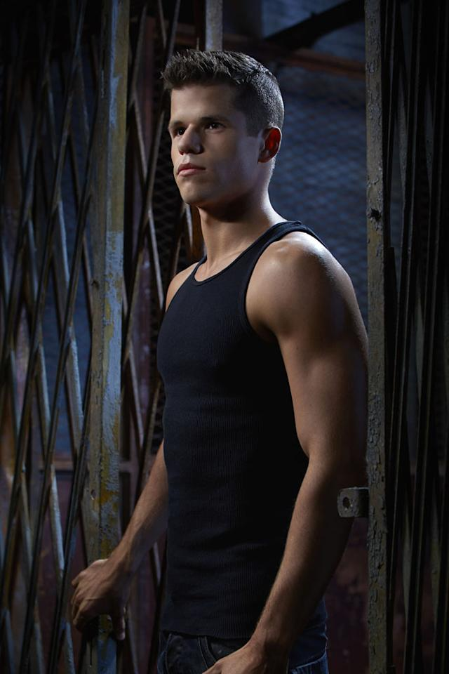 "Ethan (Charlie Carver) in MTV's ""Teen Wolf"" Season 3."