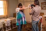 """<p>To take on Rebecca and Jack's looks from the pilot episode of <em>This Is Us</em>, you just need to wear a blue checkered smock dress over a white t-shirt and jeans and have your partner dress in a plaid button-down.</p><p><a class=""""link rapid-noclick-resp"""" href=""""https://www.amazon.com/Qumee-Drawstring-Dresses-Sleeveless-Spaghetti/dp/B09BMT9JRB?tag=syn-yahoo-20&ascsubtag=%5Bartid%7C10070.g.28589425%5Bsrc%7Cyahoo-us"""" rel=""""nofollow noopener"""" target=""""_blank"""" data-ylk=""""slk:SHOP DRESS"""">SHOP DRESS</a></p><p><a class=""""link rapid-noclick-resp"""" href=""""https://www.amazon.com/Dubinik-Sleeve-Button-Shirts-Regular/dp/B08QN4K83C?tag=syn-yahoo-20&ascsubtag=%5Bartid%7C10070.g.28589425%5Bsrc%7Cyahoo-us"""" rel=""""nofollow noopener"""" target=""""_blank"""" data-ylk=""""slk:SHOP SHIRT"""">SHOP SHIRT</a></p>"""