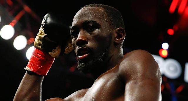 Terence Crawford suffered a right hand injury during a sparring session. (Getty Images)