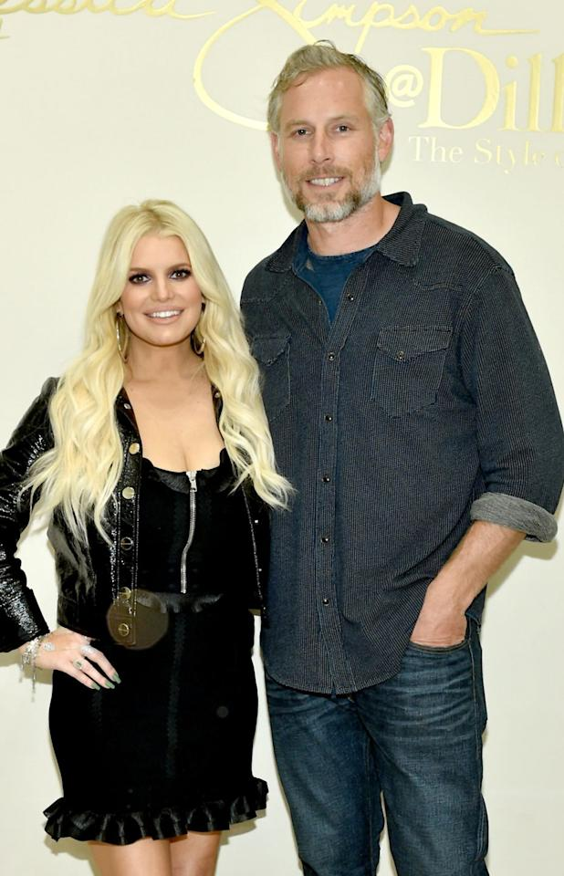"<p>In March, Jessica Simpson announced the arrival of her third child, a girl named Birdie, <a href=""https://www.instagram.com/p/BvPhGV0gagY/"" target=""_blank"">on Instagram</a>. The fashion maven and pop singer's ""<a href=""https://www.instagram.com/p/Bwh0ndsj--I/"" target=""_blank"">party of five</a>"" also includes husband Eric Johnson, daughter Maxwell Drew, and son Ace Knute.</p>"