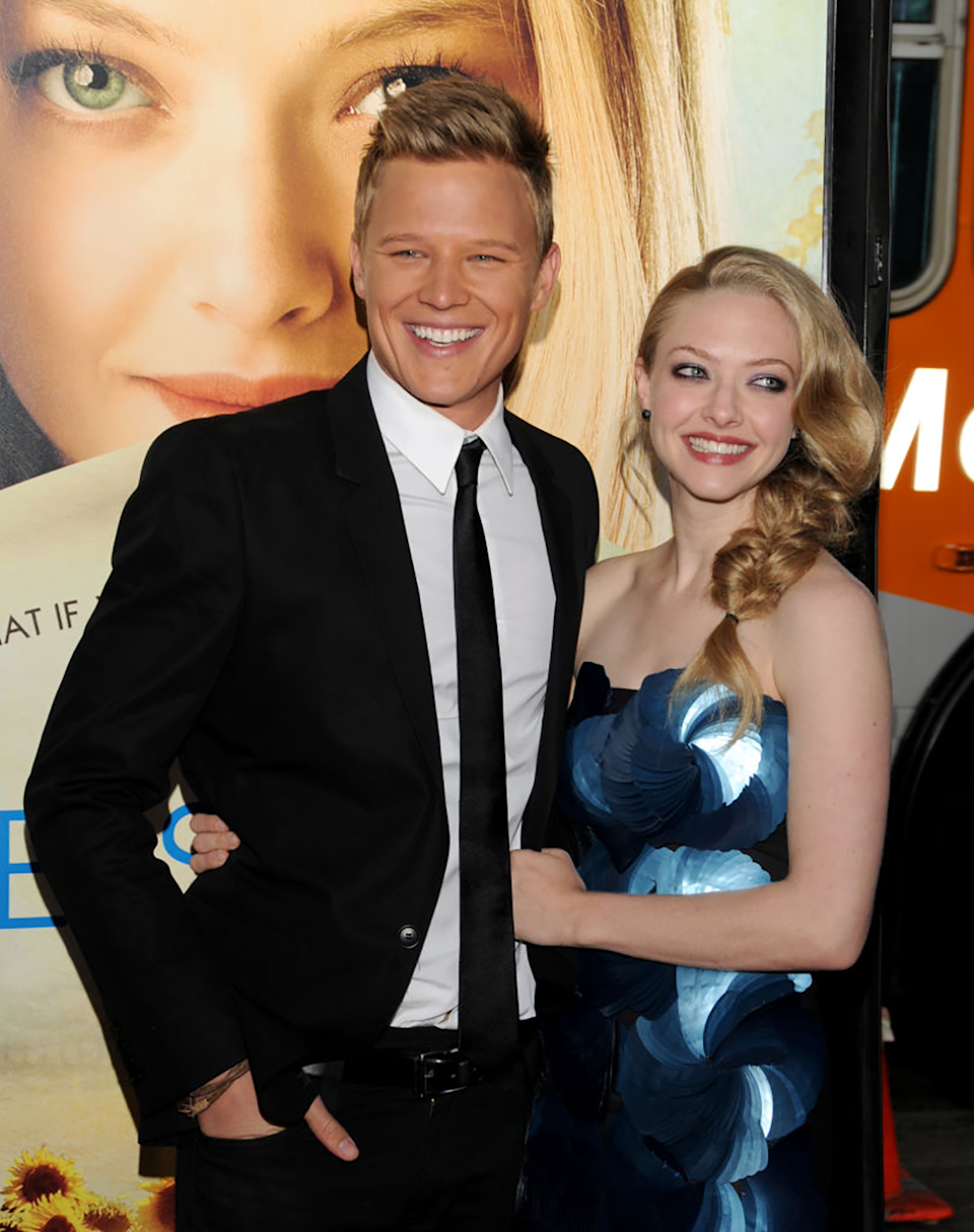 Christopher starred in the 2010 rom-com Letters To Juliet with Mamma Mia! star Amanda Seyfried. Photo: Getty