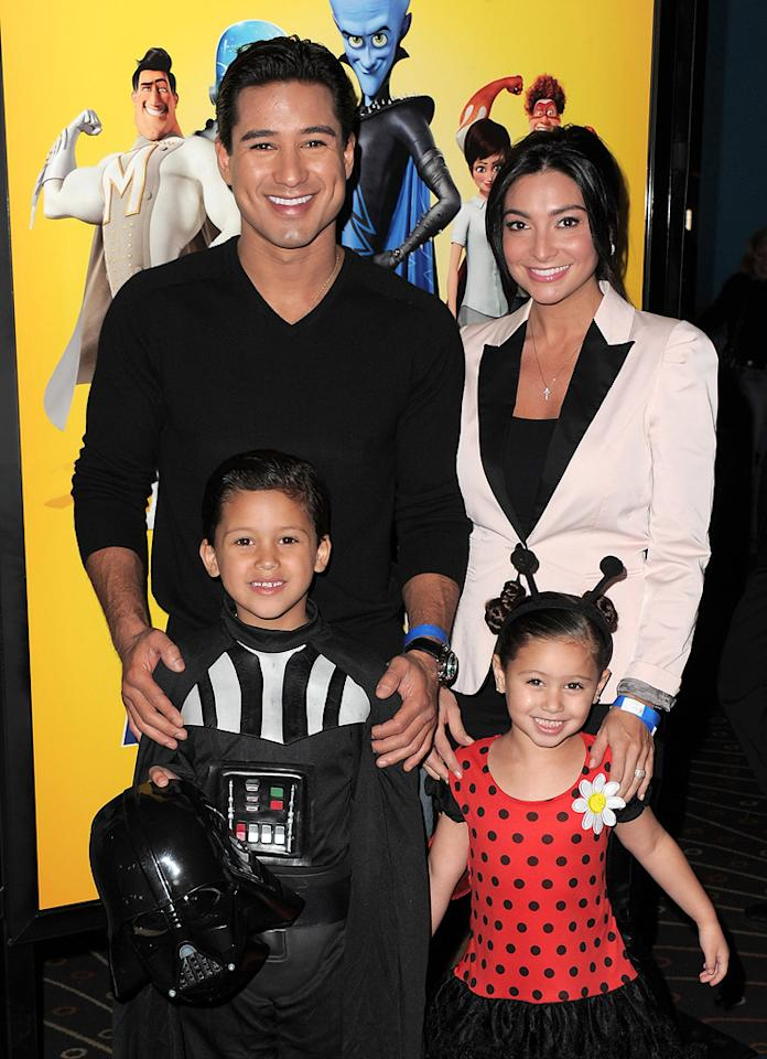 """<a href=""""http://movies.yahoo.com/movie/contributor/1800280677"""">Mario Lopez</a> and guests at the Los Angeles premiere of <a href=""""http://movies.yahoo.com/movie/1809998238/info"""">Megamind</a> on October 30, 2010."""