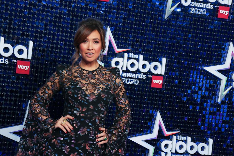 Myleene Klass admits that famous shower scene nearly didn't happen. (Getty Images)