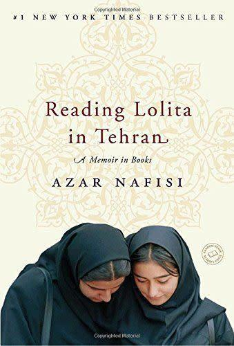 """<i><a href=""""http://www.amazon.com/Reading-Lolita-Tehran-Memoir-Books/dp/0812979303/ref=sr_1_1?s=books&amp;ie=UTF8&amp;qid=1452550802&amp;sr=1-1&amp;keywords=Reading+Lolita+in+Tehran"""" rel=""""nofollow noopener"""" target=""""_blank"""" data-ylk=""""slk:Reading Lolita in Tehran"""" class=""""link rapid-noclick-resp"""">Reading Lolita in Tehran</a></i>&nbsp;has spent over 117 weeks on <i>The New York Times</i> bestseller list, according to the <a href=""""http://barclayagency.com/site/speaker/azar-nafisi"""" rel=""""nofollow noopener"""" target=""""_blank"""" data-ylk=""""slk:author's website"""" class=""""link rapid-noclick-resp"""">author's website</a>. The memoir shares Nafisi's remarkable experience&nbsp;teaching in Iran, where she secretly gathered several&nbsp;of her female students to read forbidden Western classics."""