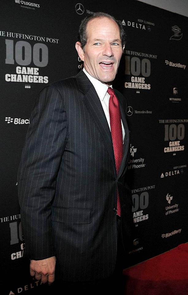 He can still win your vote for something! Former New York governor Eliot Spitzer tied with Charlie Sheen for sixth creepiest thanks to the 2008 scandal in which he was forced to resign after 'fessing up to patronizing prostitutes. (10/28/2010)