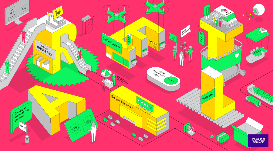 Retail Revolution (Illustration by Thomas Porostocky)